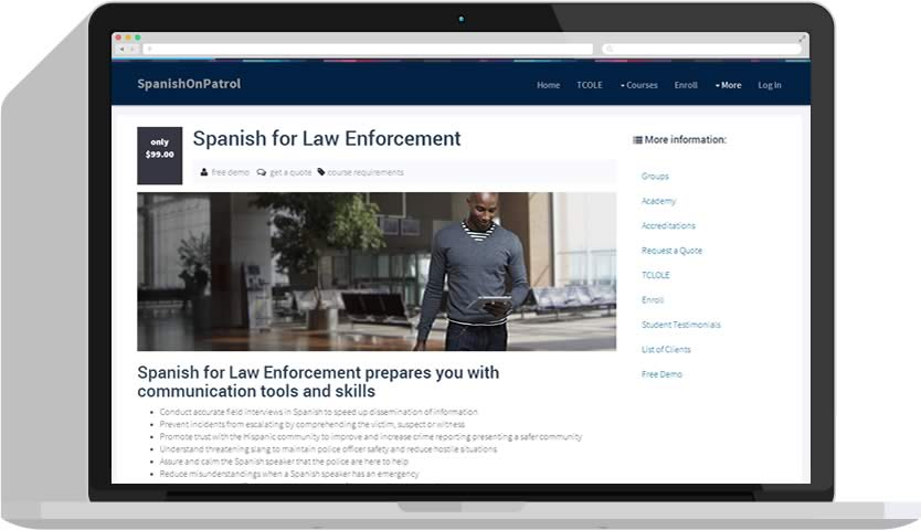Law Enforcement Spanish